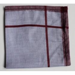 Katoenen zakdoeken ajour per stuk rood 3