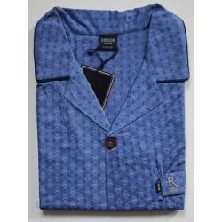 Heren katoenen  pyjama alleen jasje Robson maat L / 52 nr. 1
