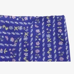 Halterschortje blauw met bloemetjes no.2