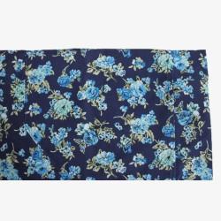Halterschort met blauwe bloemetjes no.5