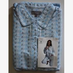 Damespyjama tricot Lunatex donkerblauw maat L nr.3