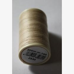 Kleur 2530 naaigaren | Coats Duet klosje garen beige/bruin