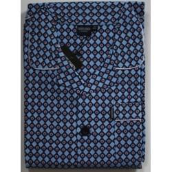 Flanellen herenpyjama alleen jasje maat 52 nr. 2| Nachtkleding Gentlemen