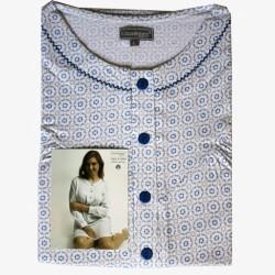 Nachthemd lange mouw nr. 40 | Maat M | Cocodream
