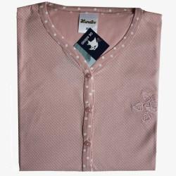 Damespyjama  Lunatex roze maat XL nr. 1
