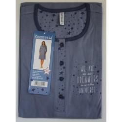 Nachthemd Comtessa lange mouw nr. 33 | Maat L