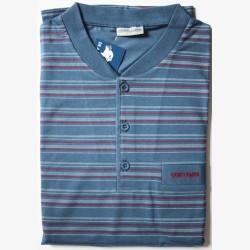 Tricot heren pyjama alleen jasje maat XL nr. 1 Gentlemen