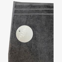 Handdoek Elias grijs 60x110cm| Badhanddoeken