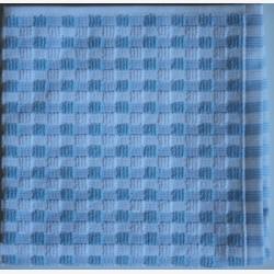 Vaatdoekjes stippen licht blauw Clarysse