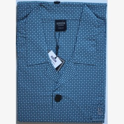 Heren pyjama jasje katoen maat 56 Robson