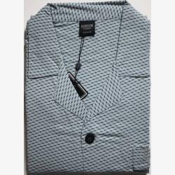 Heren pyjama jasje flanel maat 56 nr.3 Robson