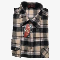 Flanellen overhemd maat S   Geblokte heren overhemden