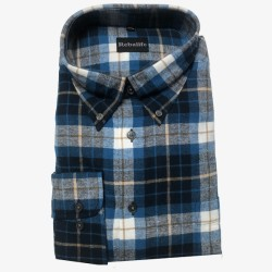 Flanellen overhemd maat XXL nr. 9   Heren overhemden Rebalife