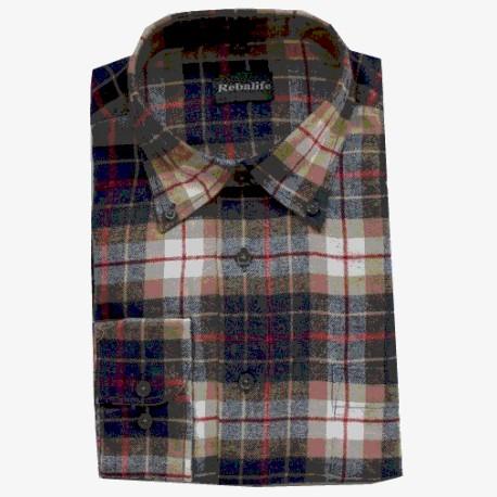 Flanellen overhemd maat XXL nr. 1   Heren overhemden