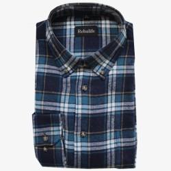 Flanellen overhemd maat L nr. 5   Heren overhemden Rebalife