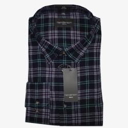 Flanellen overhemd maat 4XL nr. 1  Heren overhemden