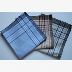 Katoenen heren zakdoeken 6 stuks 38x38cm nr. 4