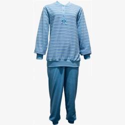 Damespyjama badstof Lunatex maat M nr. 2