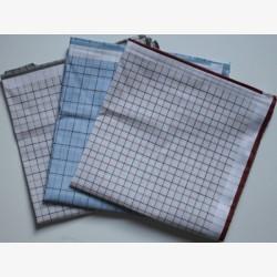 Katoenen heren zakdoeken 6 stuks ca. 40x40cm nr. 5