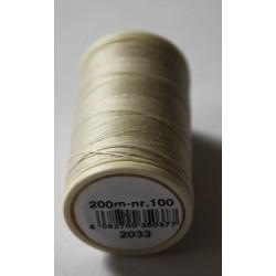 Kleur 2033 naaigaren | Coats Duet klosje garen beige/bruin