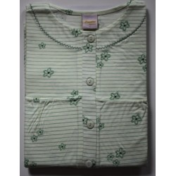 Nachthemd korte mouw groen 4 | Maat S | Damesnachthemden