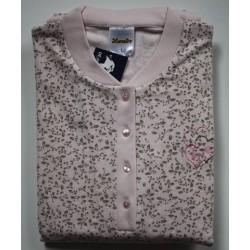 Damespyjama  Lunatex roze maat XL nr. 4