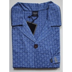Heren katoenen  pyjama alleen jasje Robson maat  58 nr. 1