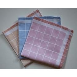 Katoenen dames zakdoeken 6 stuks 32x32cm nr. 30