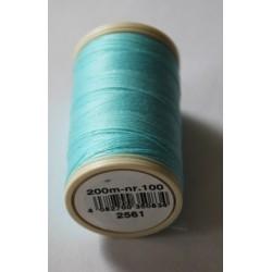 Kleur 2561 naaigaren | Coats Duet klosje garen blauw