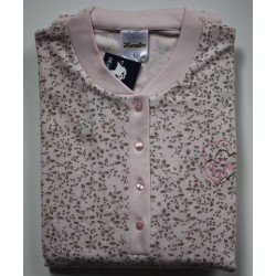 Damespyjama  tricot Lunatex roze maat L nr. 8